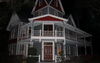 May-Stringer House at Night